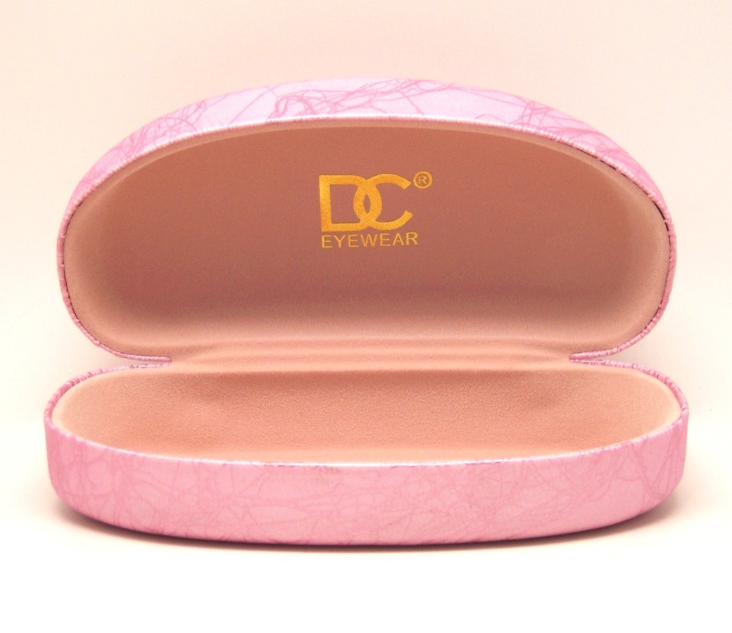 DC Eyewear Spectacles Large Case (Pink Marble Colour)
