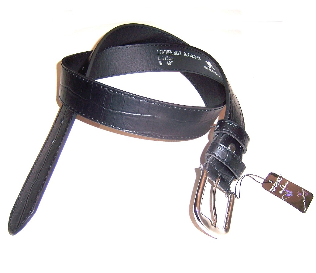 Leather Belt BLT1003-5A (4cm)