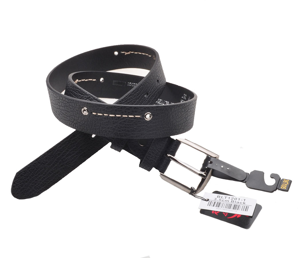 Bulk Buy Belts (3.5cm) Black BLT1201-1