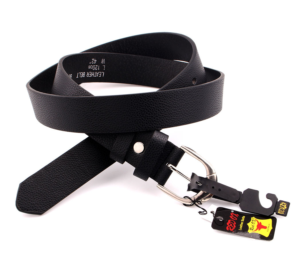 Bulk Buy Belts 3.5cm Black BLT1214-1