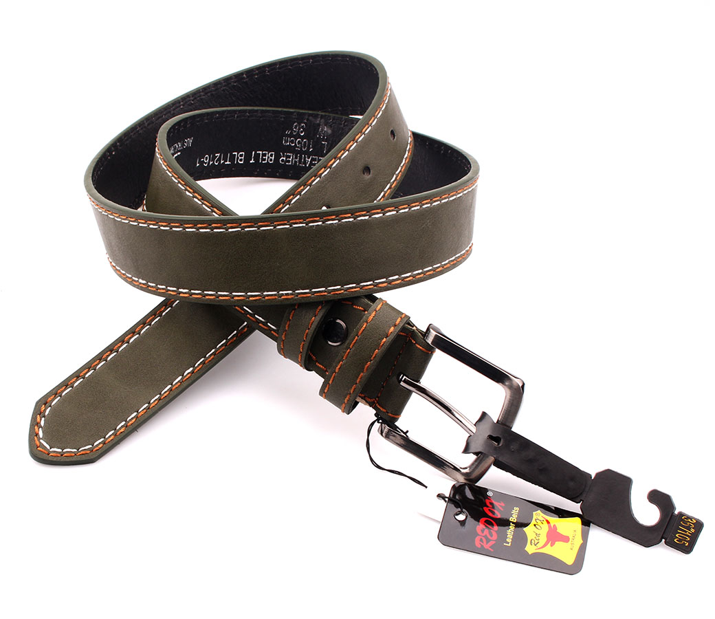 Bulk Buy Belts 3.5cm Army Green BLT1216-1