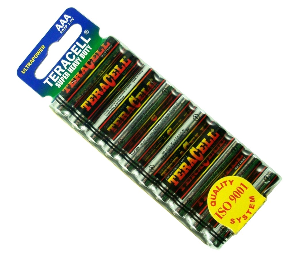 TeraCell Battery Size AAA Super Heavy Dudy BP10