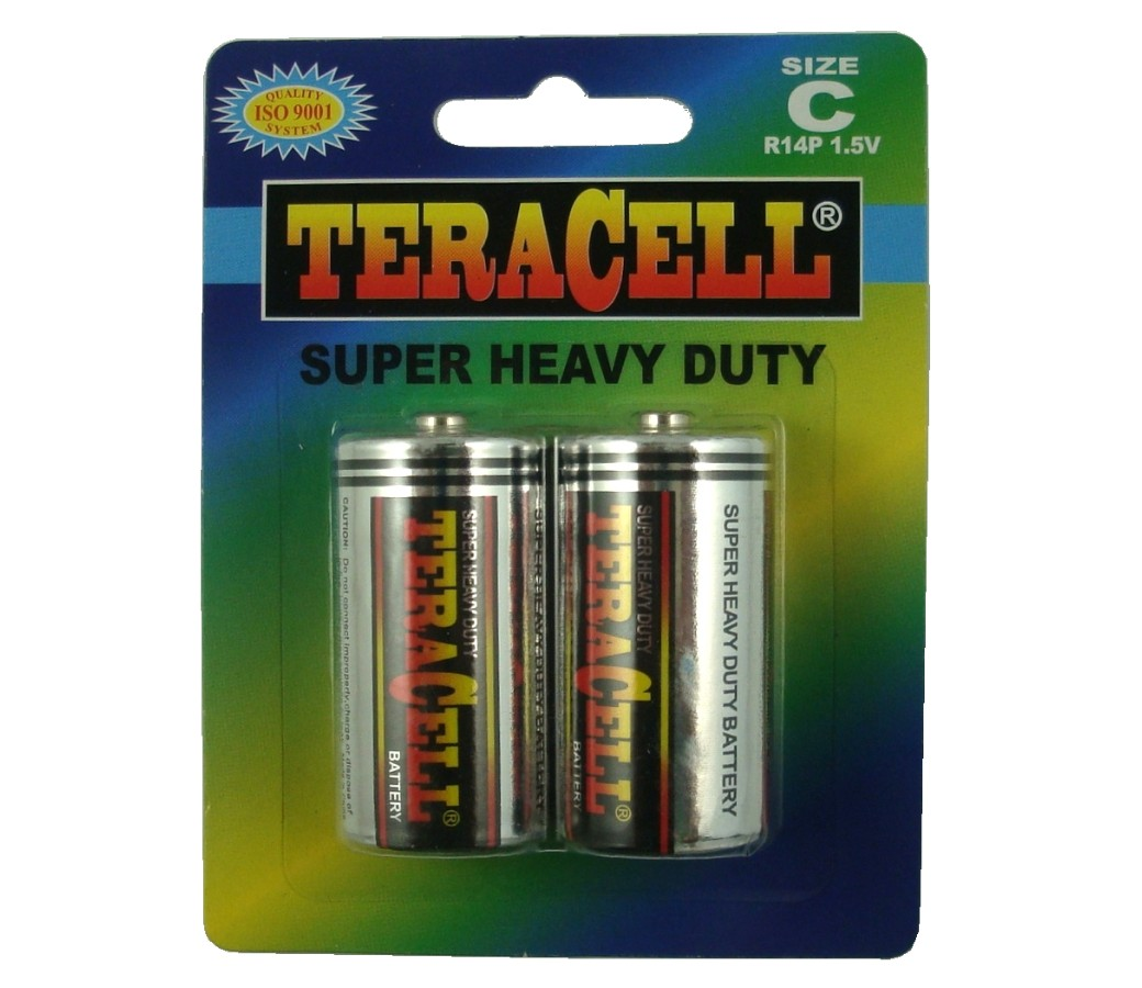 TeraCell Battery Size C Super Heavy Dudy BP2