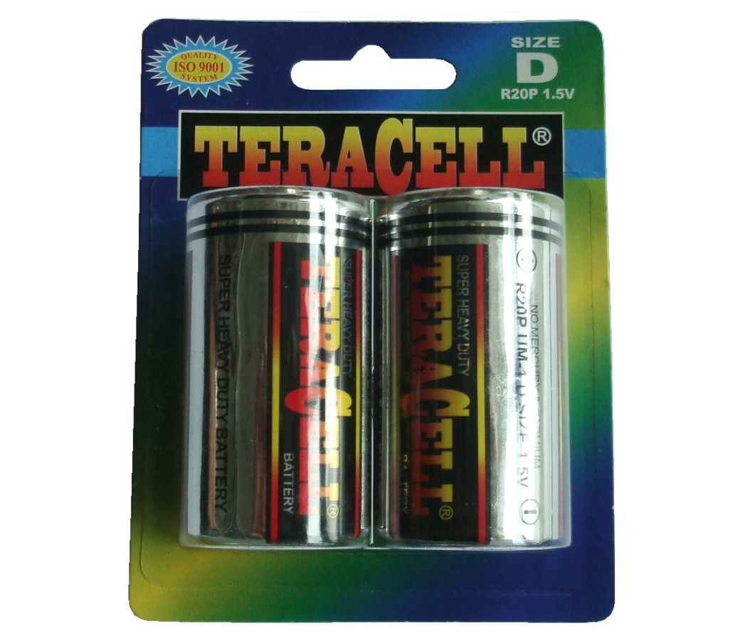 TeraCell Battery Size D Super Heavy Dudy BP2