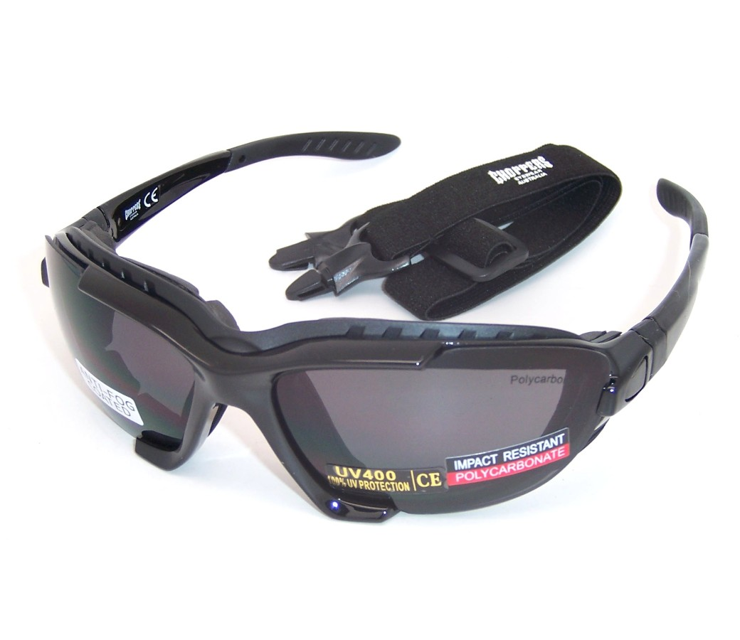 Choppers Convertible Goggles Sunglasses (Anti-Fog Coated) 91969-SM