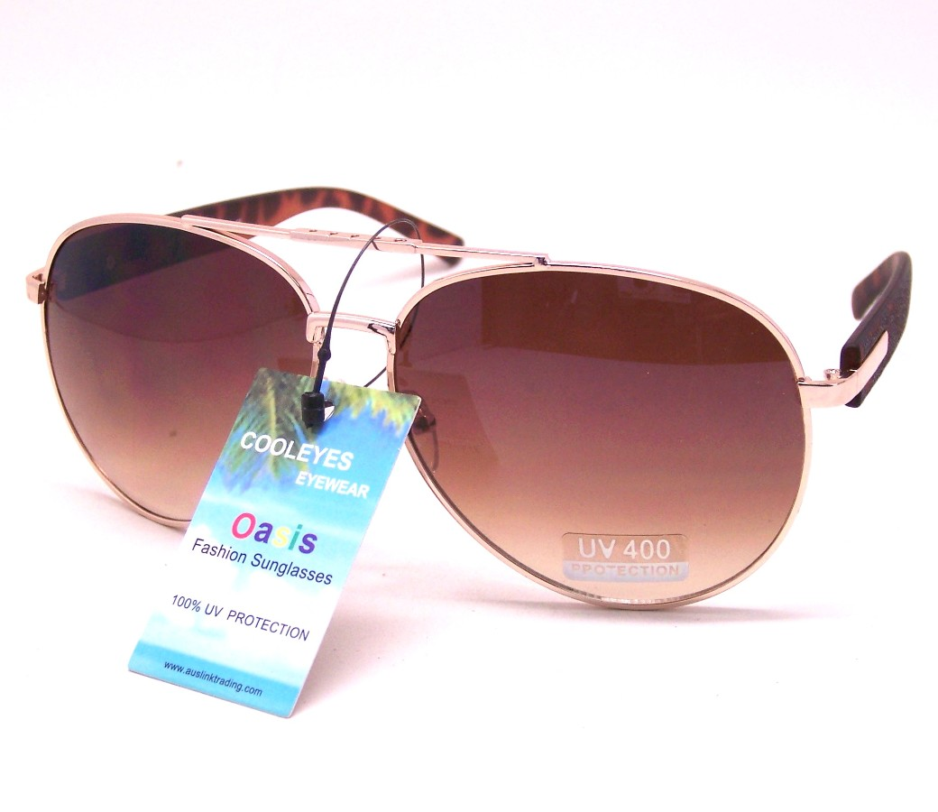 Aviator Metal Sunglasses AV004