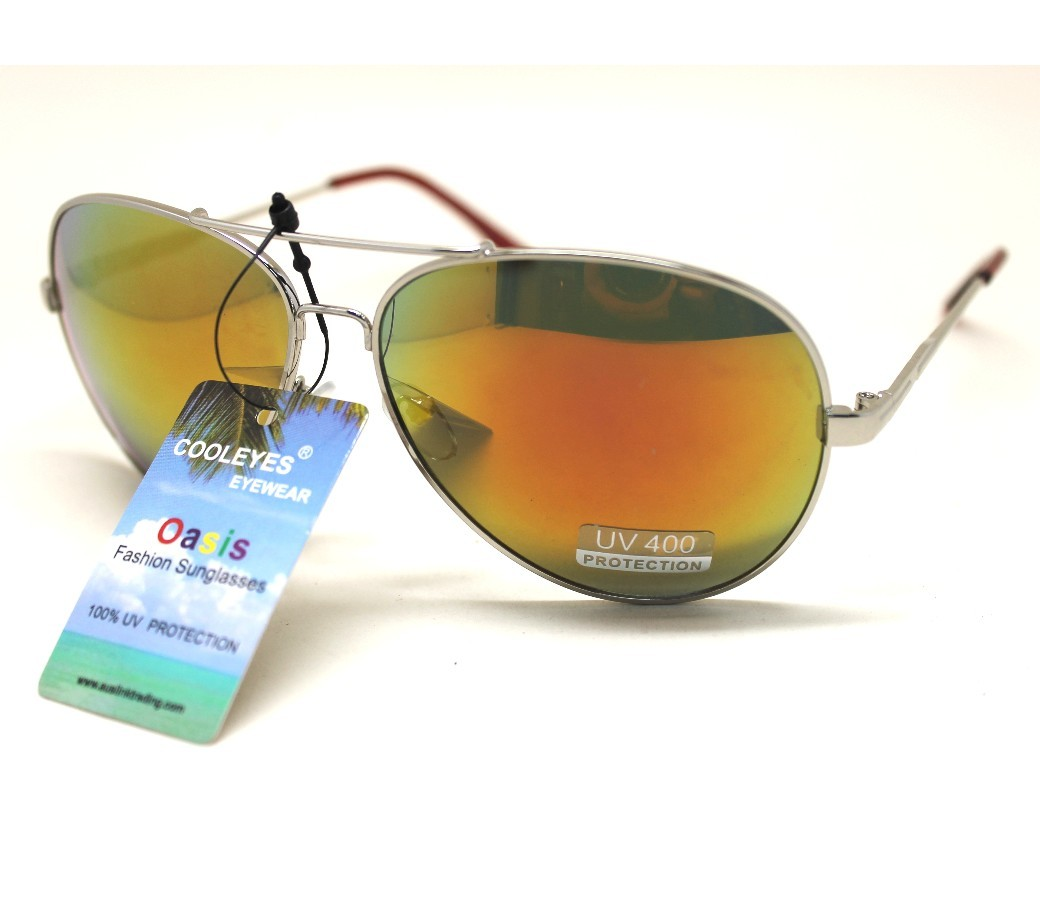 Aviator Metal Sunglasses AV005