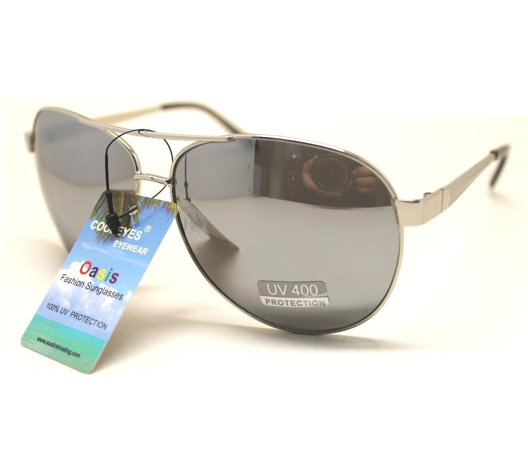 Aviator Metal Sunglasses AV006
