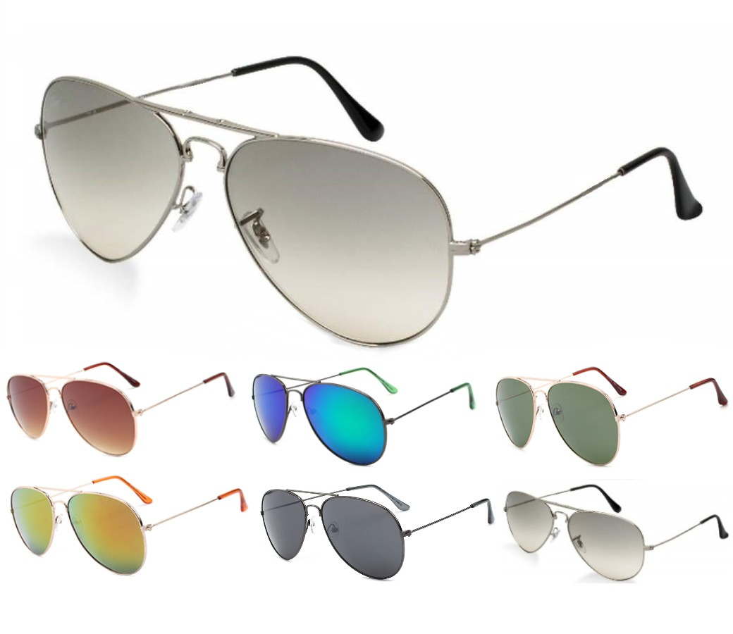 Aviator Metal Sunglasses AV008