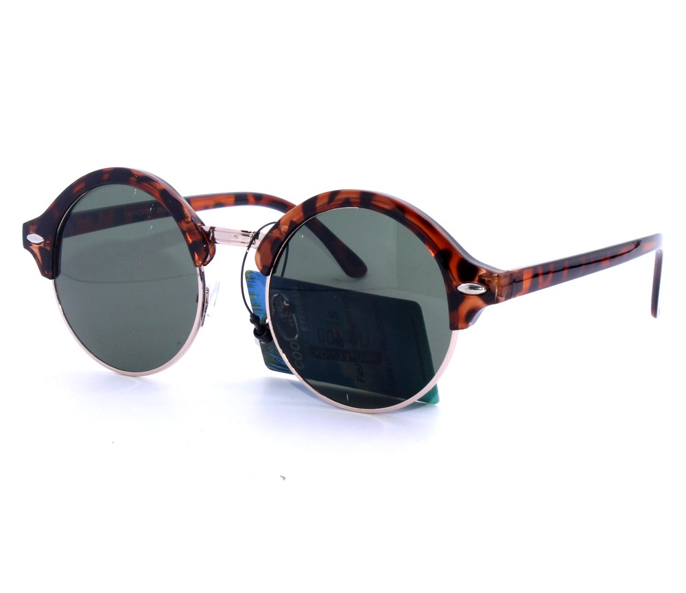 Designer Fashion Metal Sunglasses FM2117-1