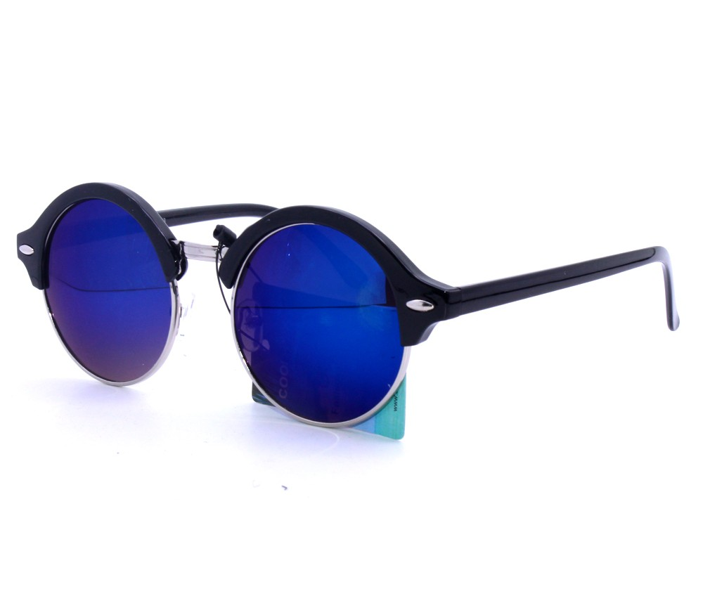 Designer Fashion Metal Sunglasses FM2117-2