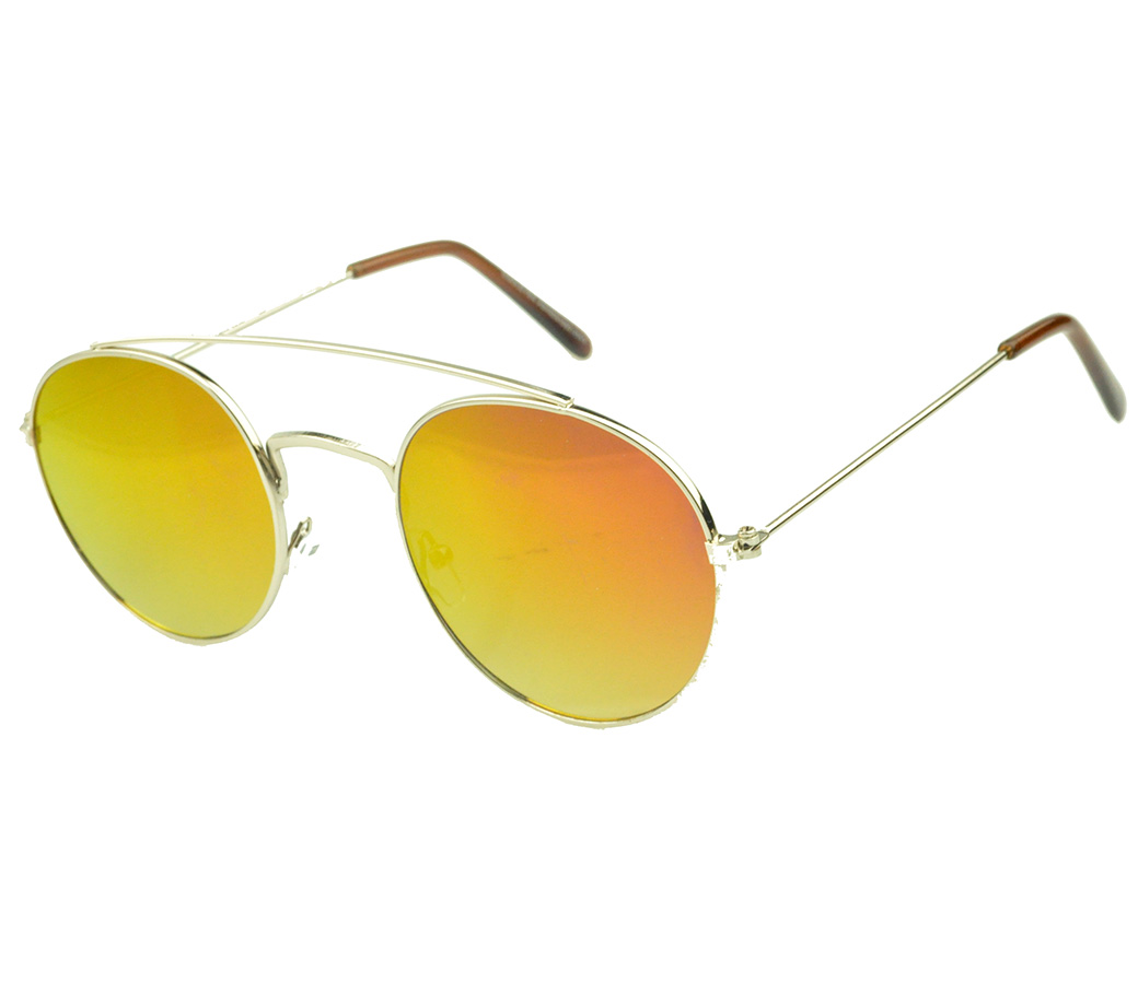 Designer Fashion Metal Sunglasses FM2125