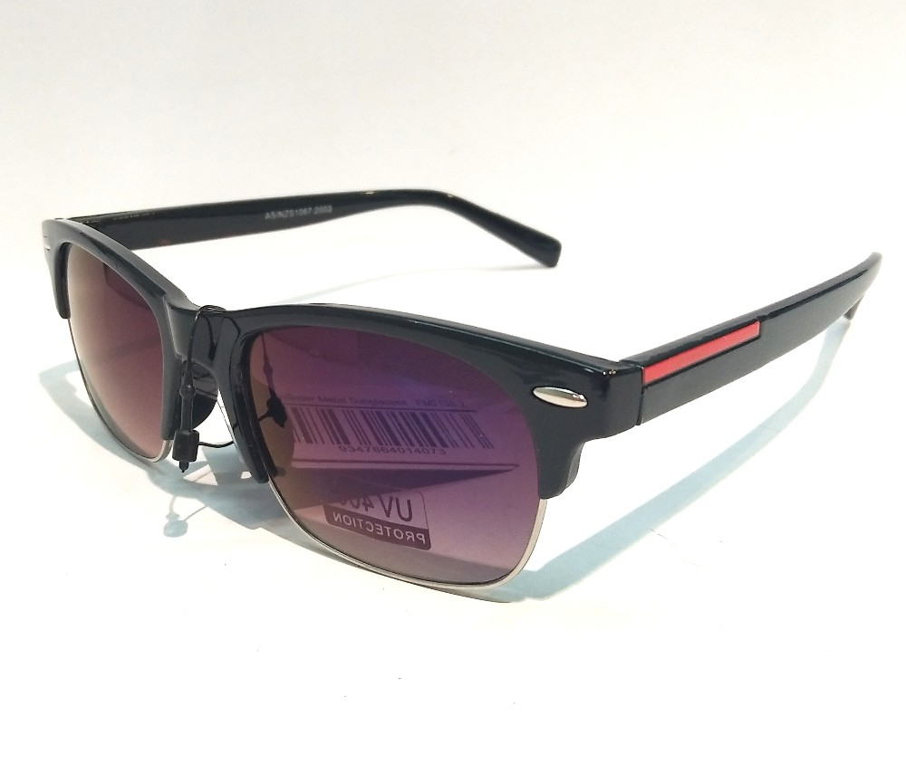 Designer Fashion Metal Sunglasses FM2138-2