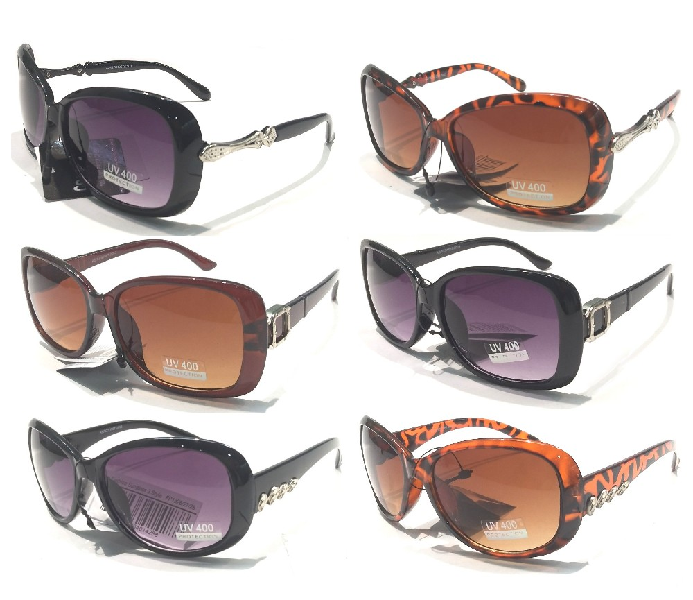Bulk Buy Fashion Sunglasses 3 Style Group FP1323/24/25