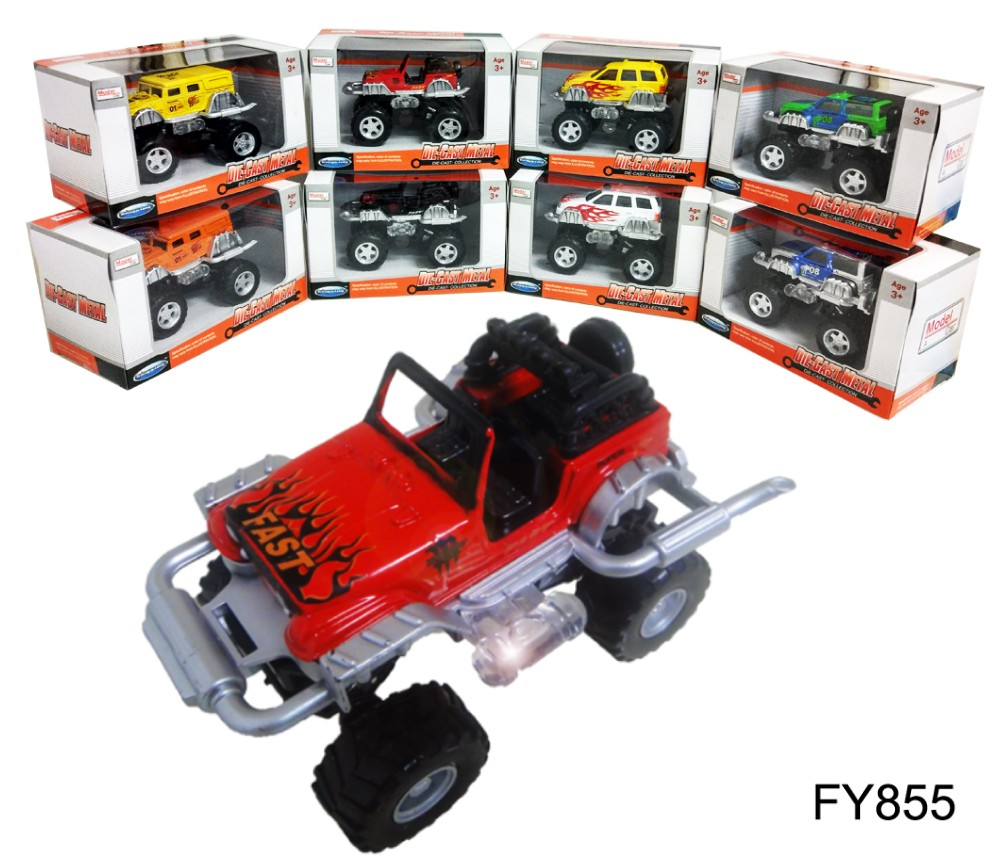 1:32 Diecast Model Off Road 4WD Convertible FY855W