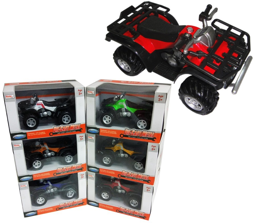 1:16 Diecast ATV Motorcycle 6 colours Asst. FY889W