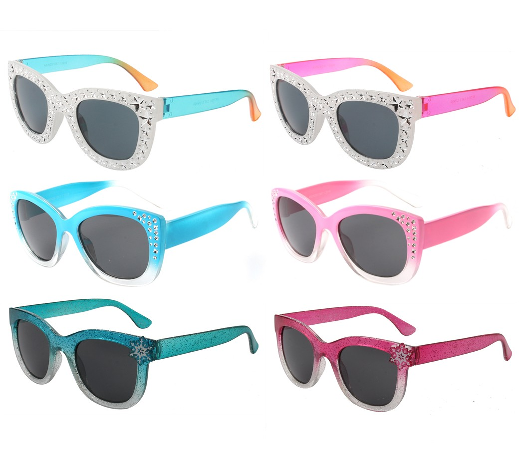 Koala Collection Kids Fashion Girls Sunglasses 3 Style Asst. KF7104/05/06