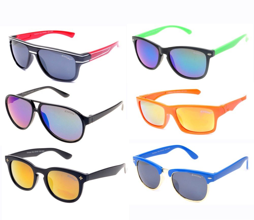 Kids Unisex Fashion Sunglasses Sample Pack