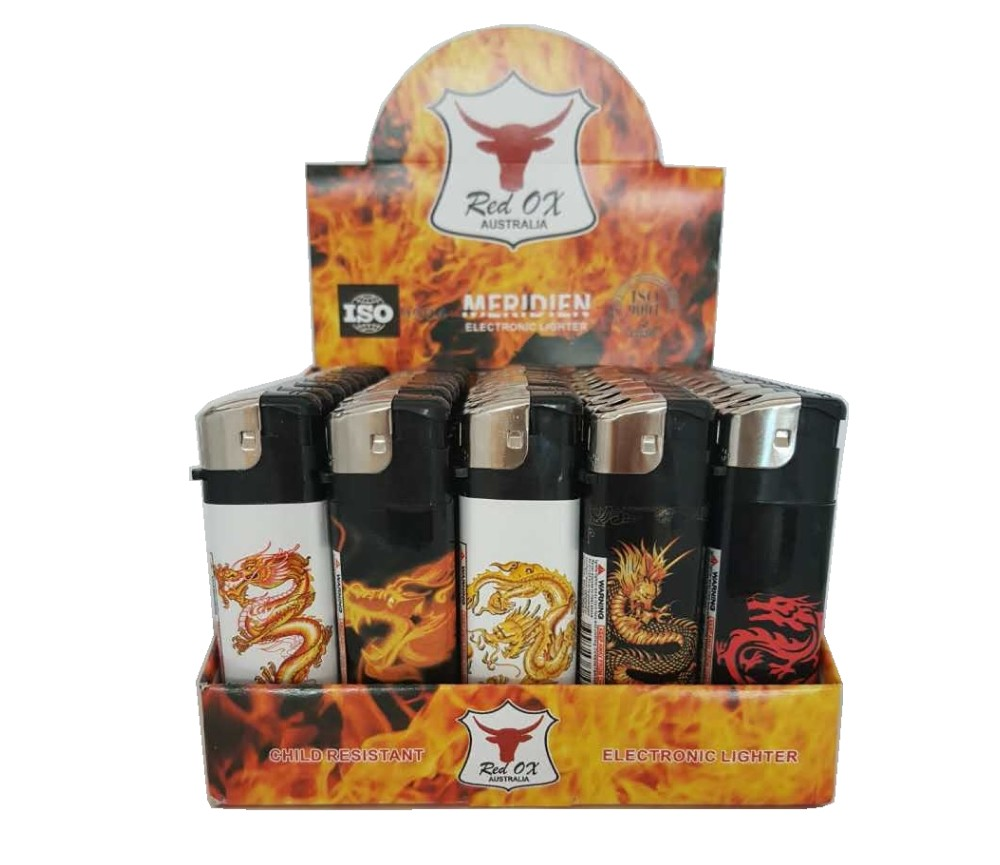 Dragon Electroni Gas Refillable Lighters LT-RF-834-Dragon
