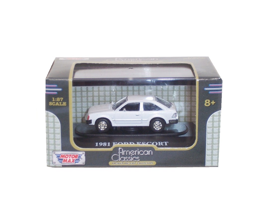 1981 Ford Escort - 1:87 (White) MM8004WH
