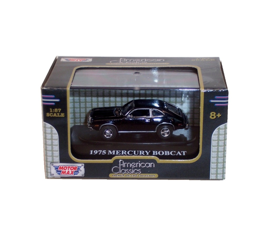 1975 Mercury Bobcat - 1:87 (Black) MM8006BK