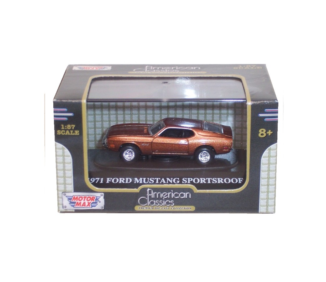 1971 Mustang Sportsroof - 1:87 (Brown) MM8008MB