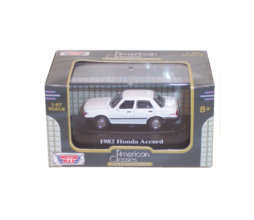 1982 Honda Accord Sedan - 1:87 (White) MM8011WH