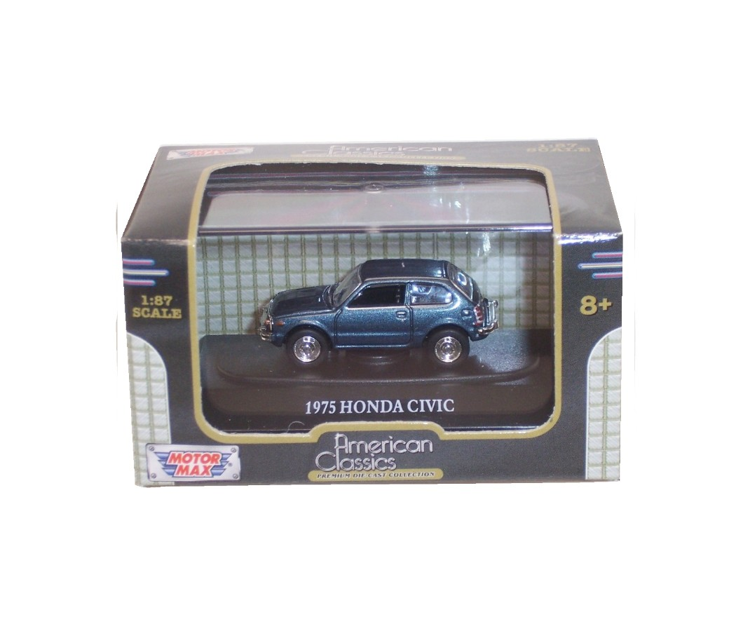 1975 Honda Civic - 1:87 (Blue) MM8012MB