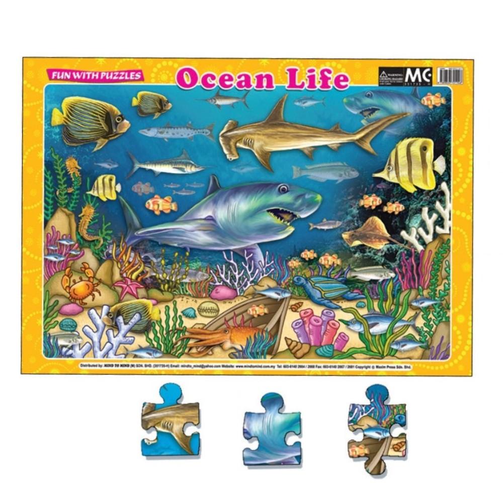 Fun With Puzzles Ocean Life (MM01607)