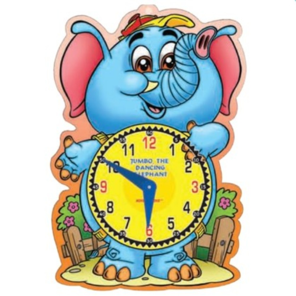 Let's Learn Time Jumbo, The Dancing Elephant (MM02192)