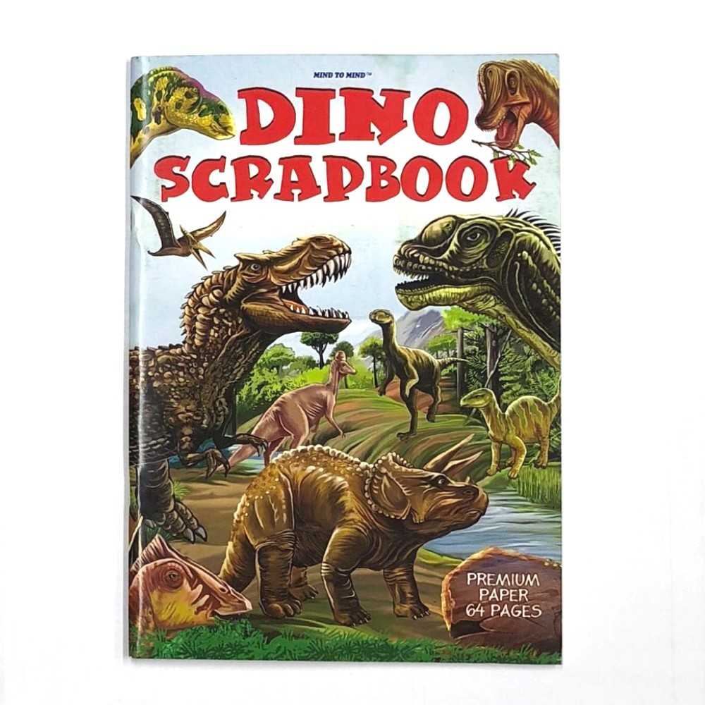 Dino Scrapbook Jumbo 64 Pages 335x240mm MM03618