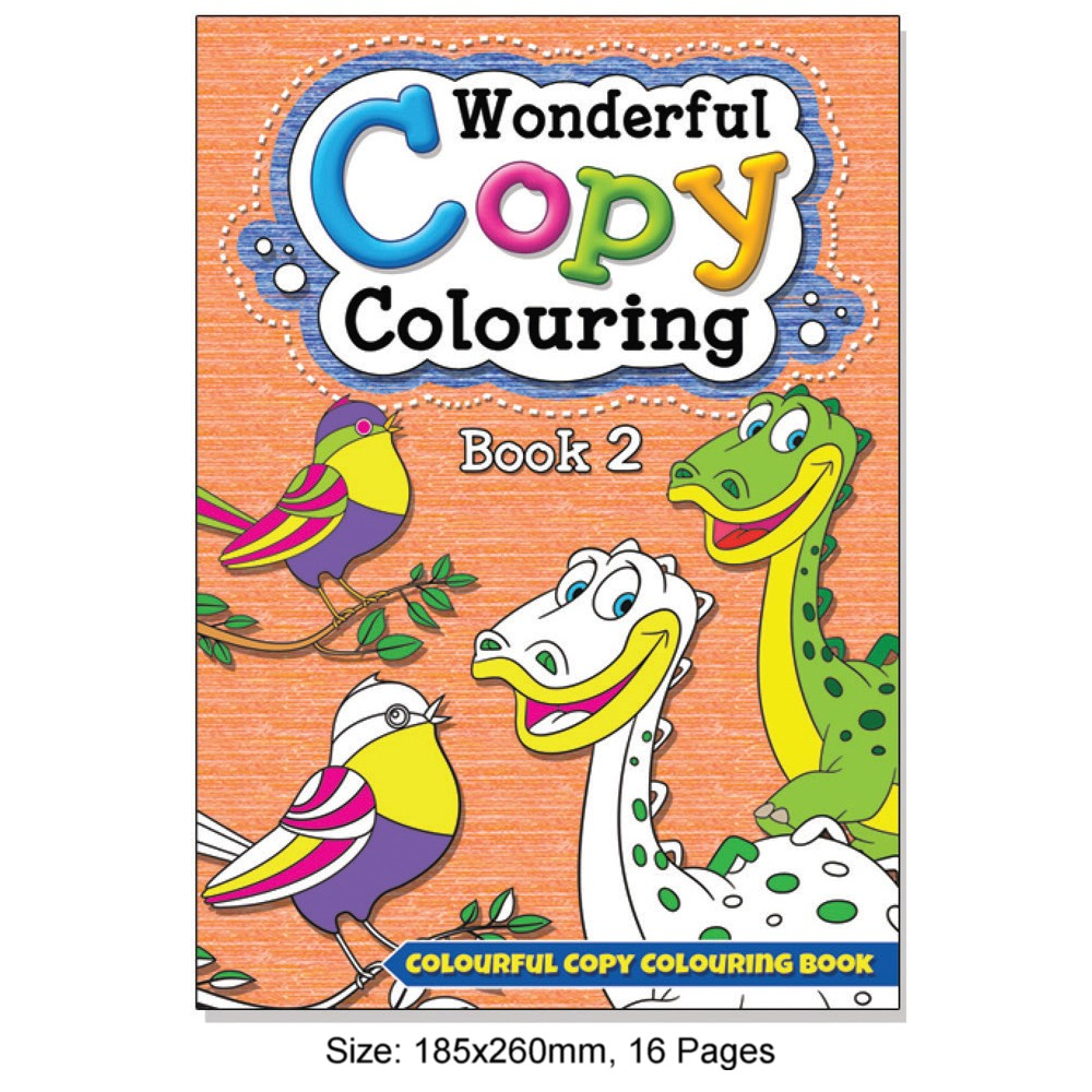 Wonderful Copy Colouring Book 2 (MM08400)