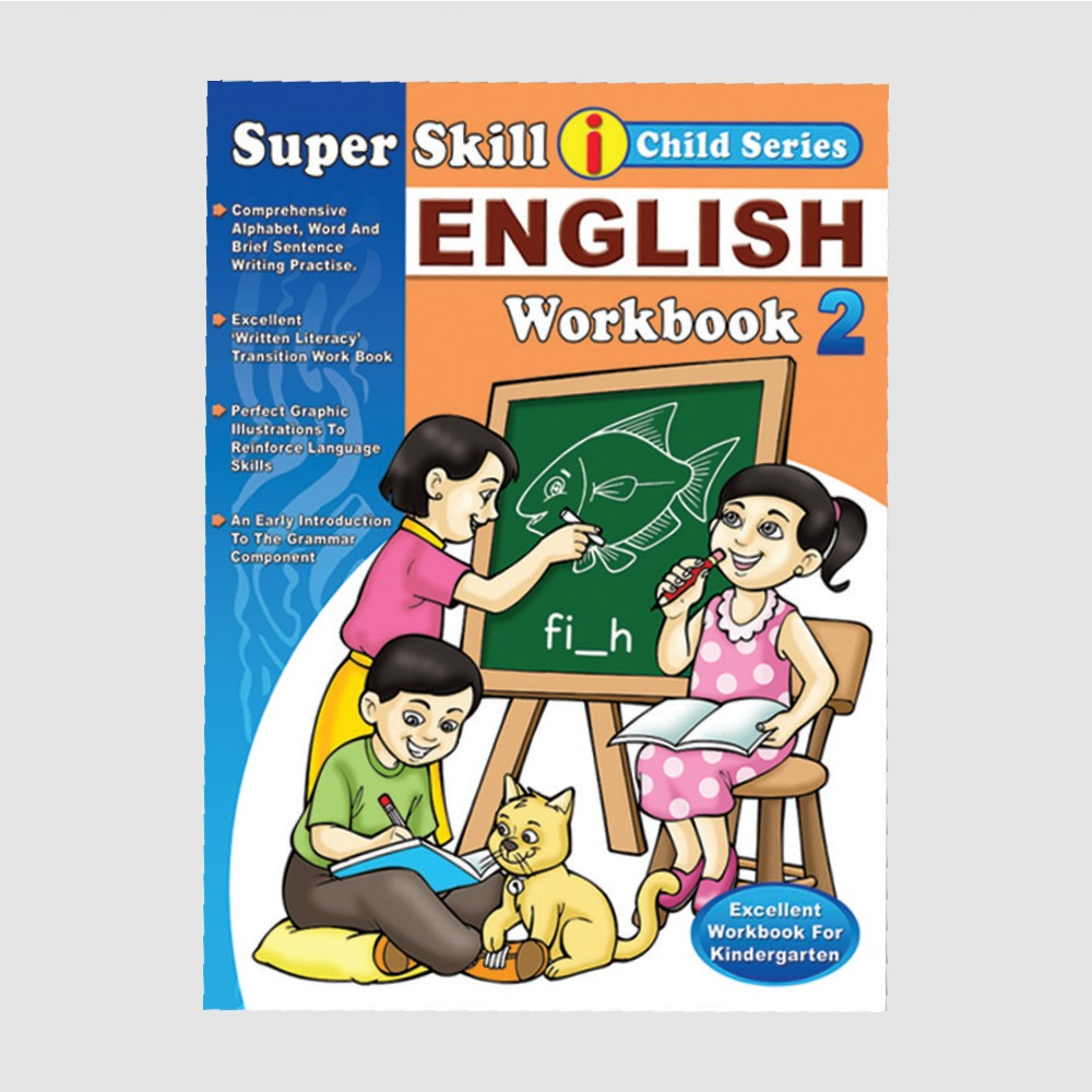 Super Skill i Child Series English Workbook 2 (MM77097)