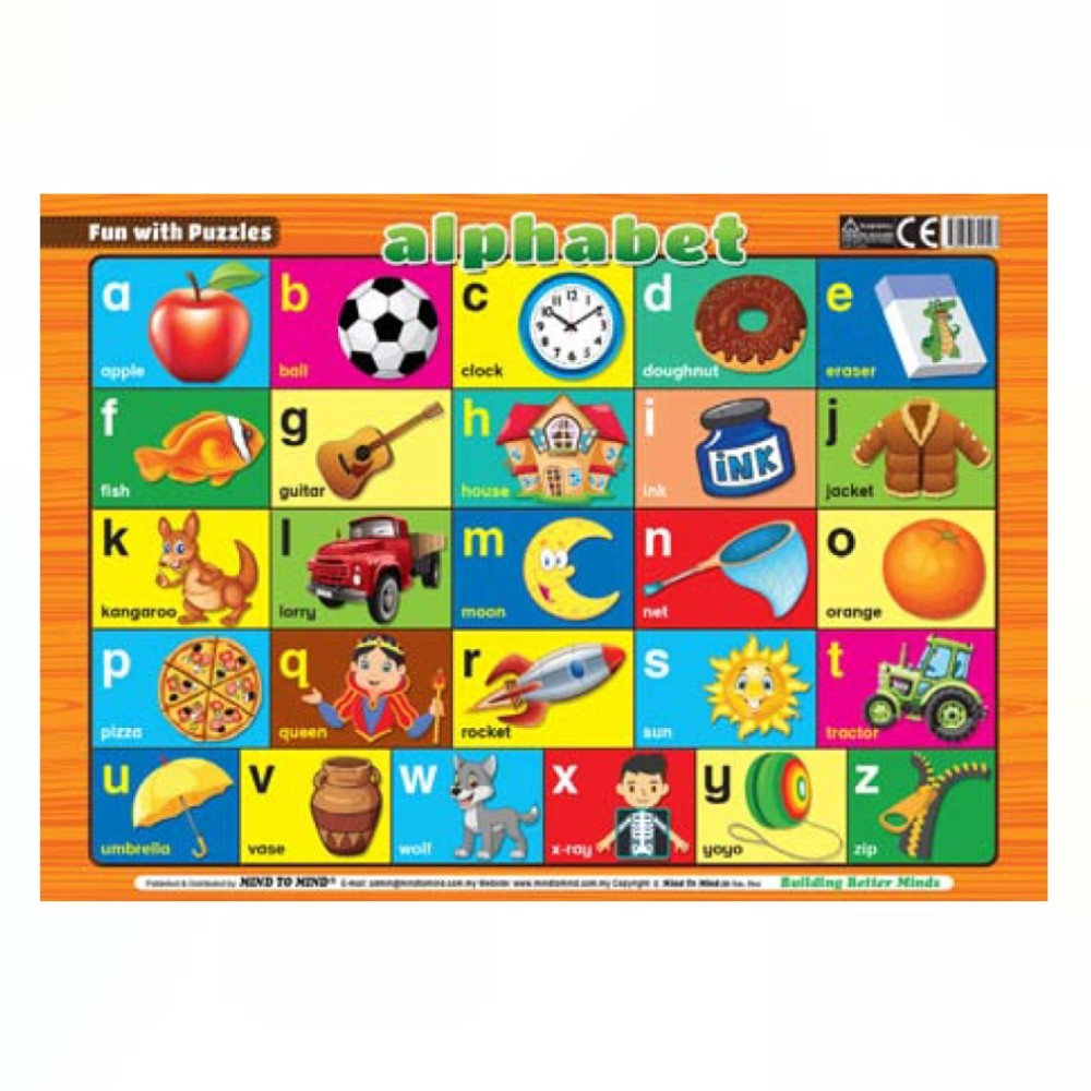 Fun With Puzzles Alphabet (MM12597)