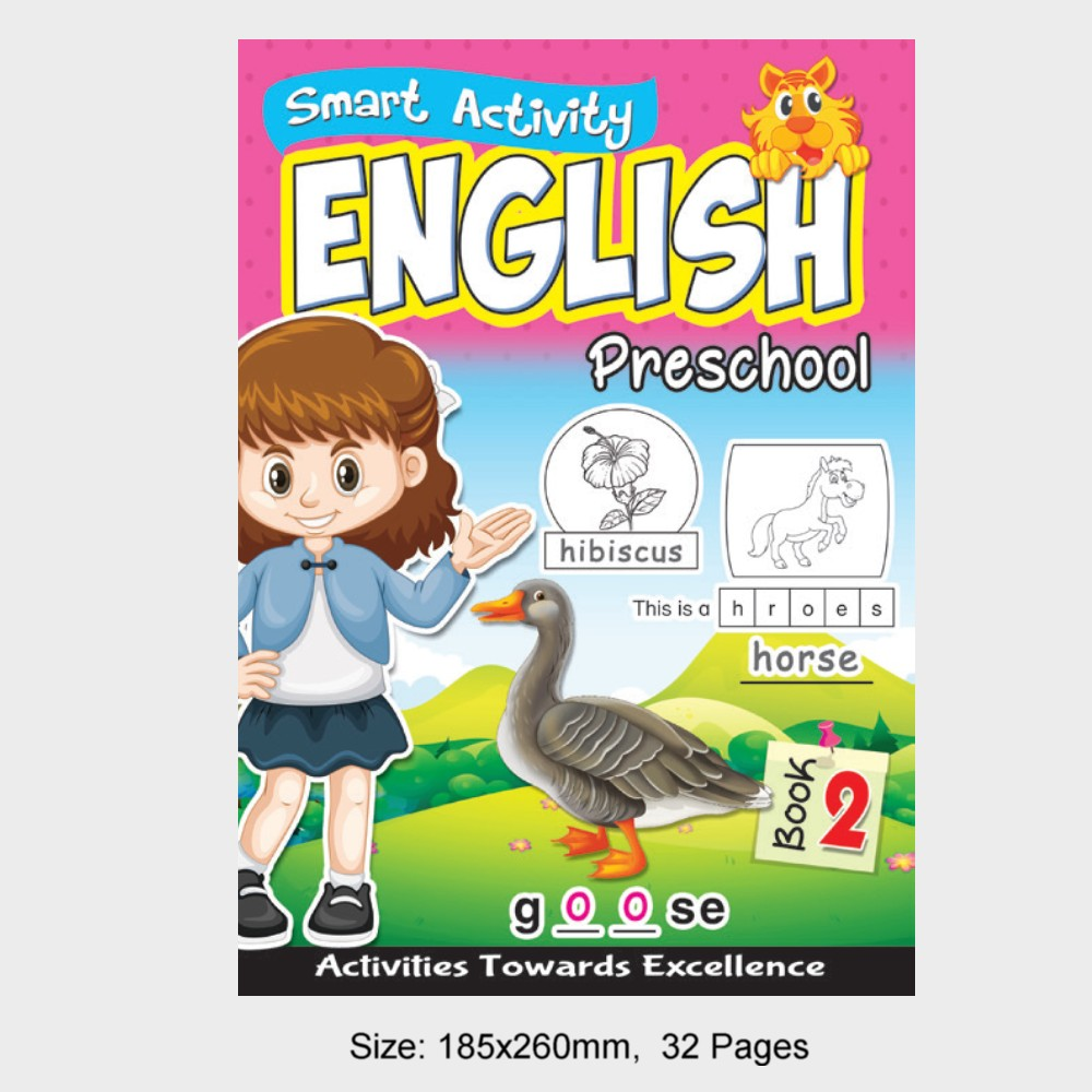 Smart Activity English Preschool Book 2 (MM18841)