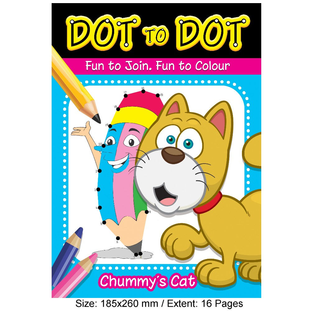 Dot To Dot Chummy's Cat (MM18940)