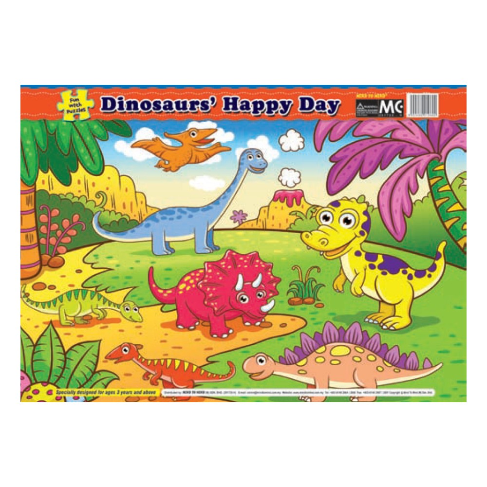 Fun With Puzzle Dinosaurs' Happy Day (MM19602)