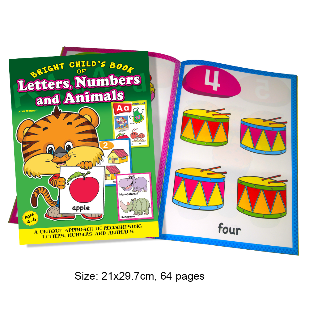 Bright Child's Book Letters, Numbers and Animals (MM19668)