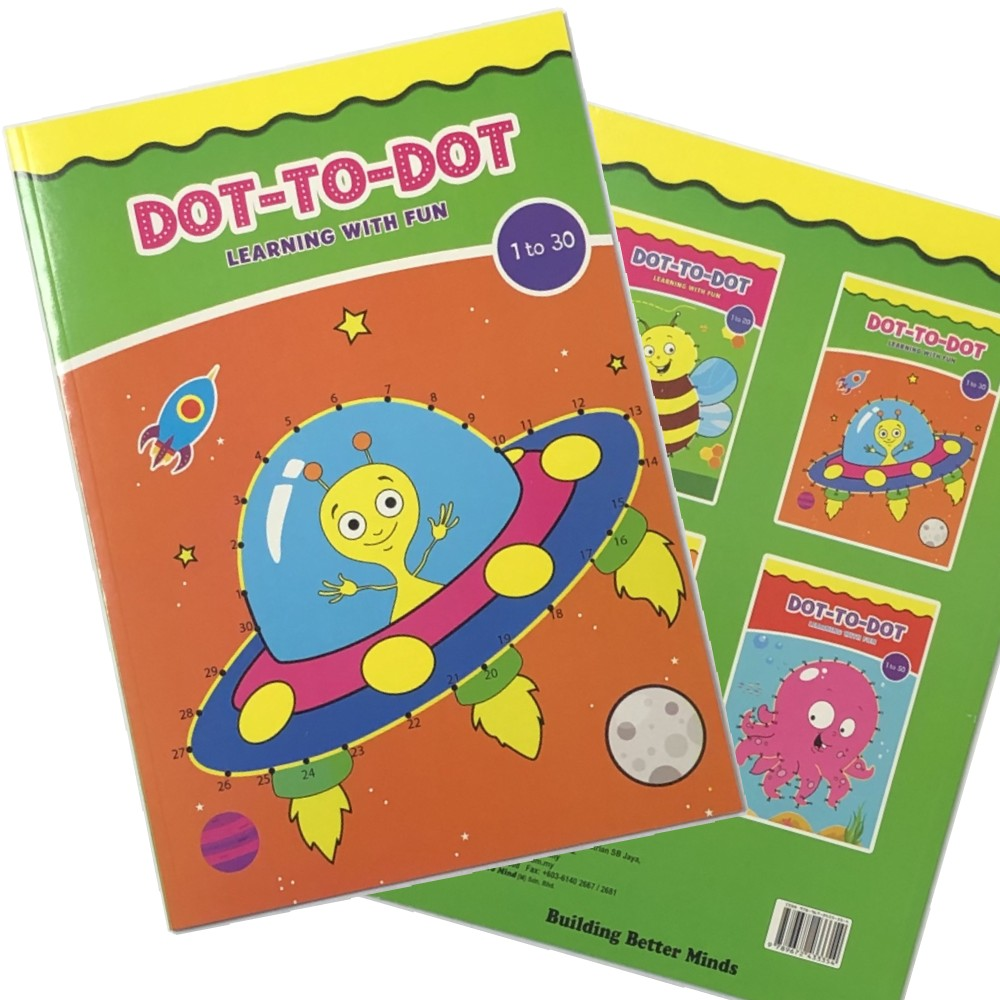 Dot-To-Dot Learning with Fun 1-30 (MM33354)
