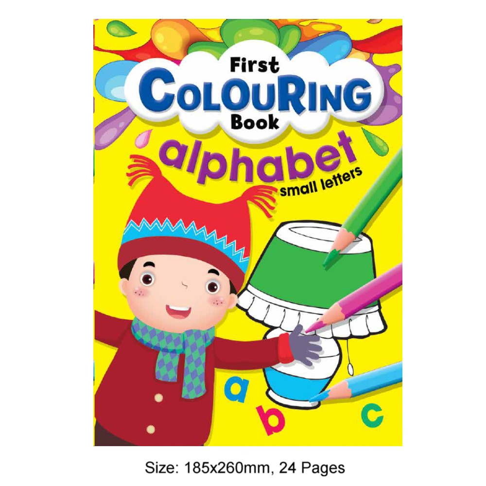 First Colouring Book Alphabet Small Letters (MM80528)