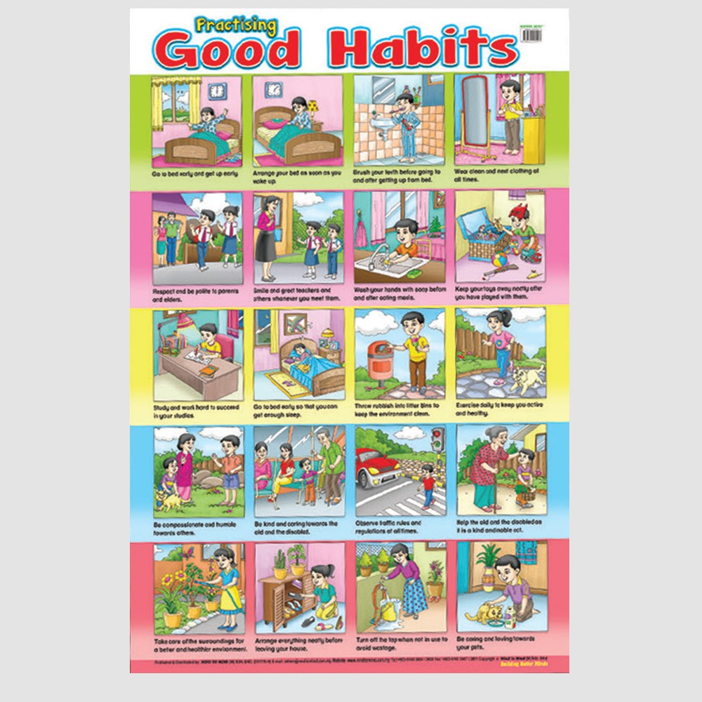 Educational Chart Good Habits (MM58297)