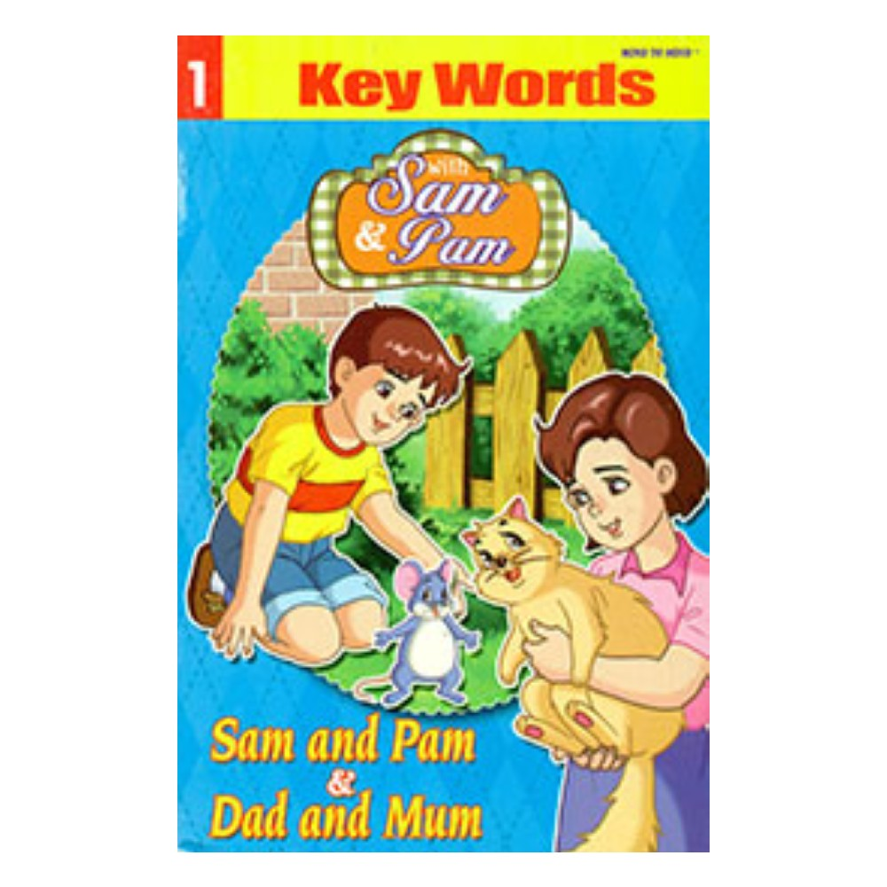 Sam and Pam Key Words Book 1 MM59485