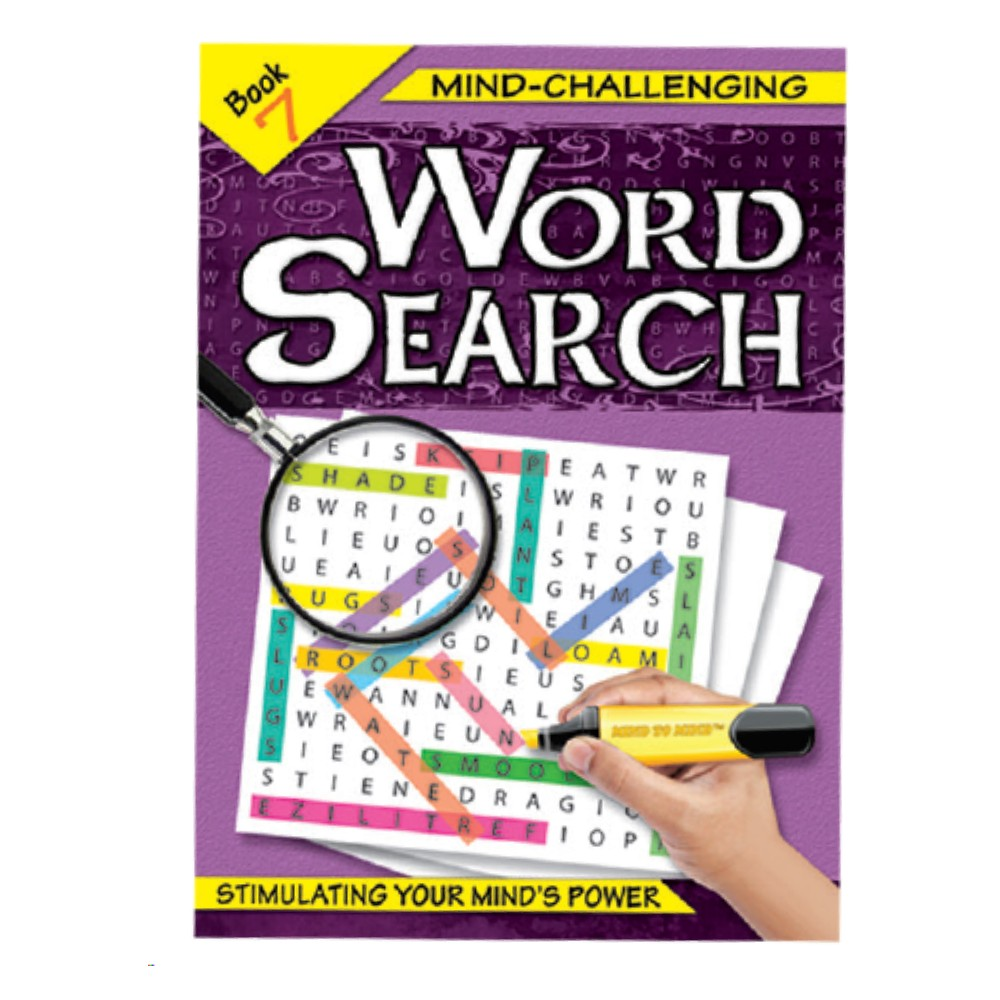 Mind-Challenging Word Search Book 7 (MM59621)