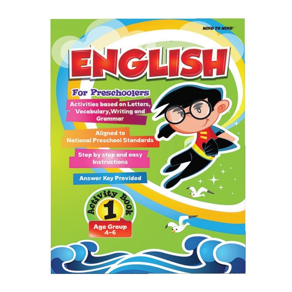 English for Preschoolers Activity Book 1 (MM70258)