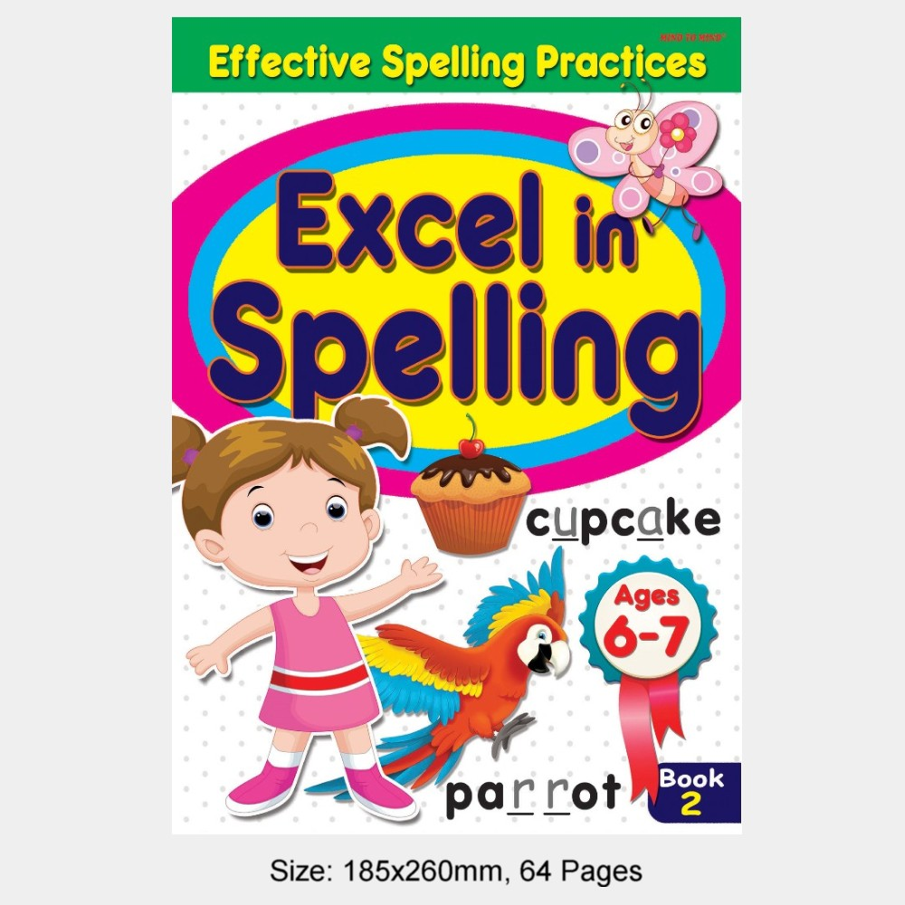 Effective Spelling Practices Excel In Spelling Book 2 (MM72955)