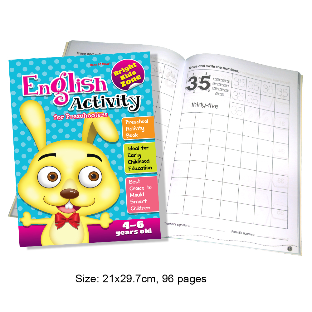 English Activity For Preschooler 4-6 years old (MM74089)