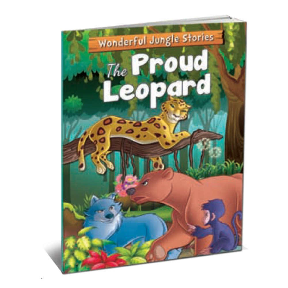 Wonderful Jungle Stories The Proud Leopard (MM75406)
