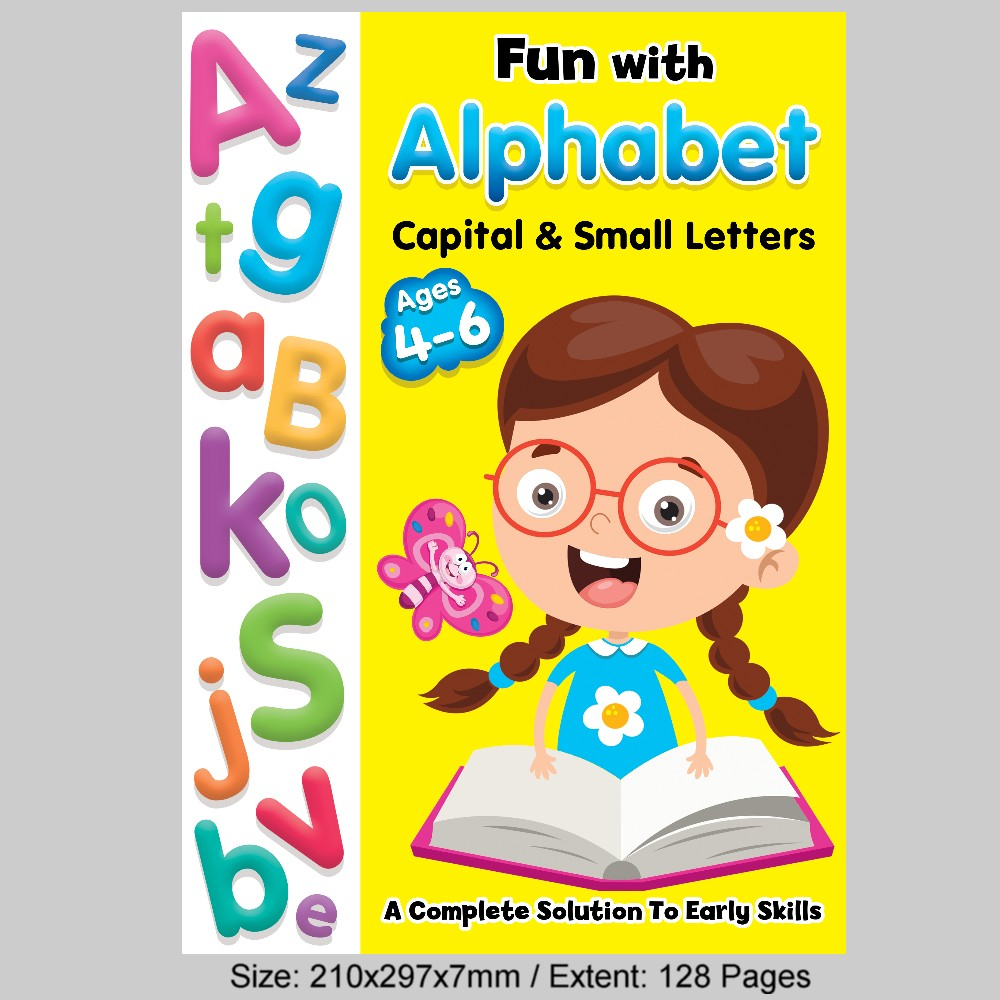 Alphabet Practice Capital & Small Letters (MM77387)