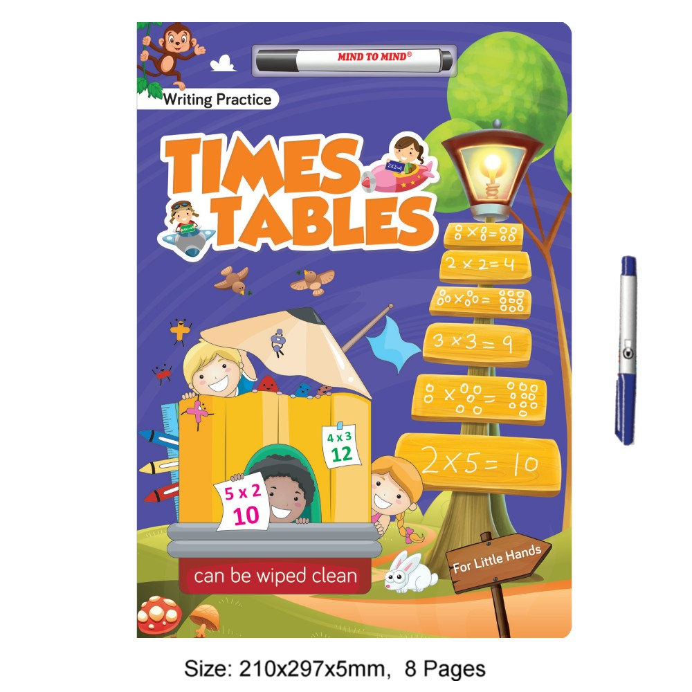 Writing Practice For Little Hands Times Tables (MM78193)