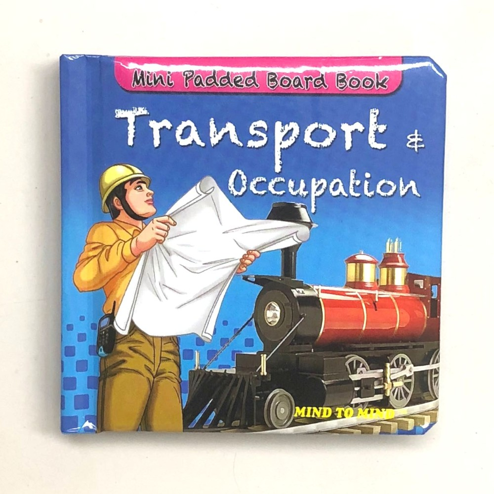 Mini Padded Board Book Transport & Occupation MM84243